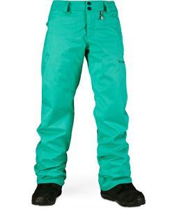 Volcom Boom Ins Snowboard Pants Island Green