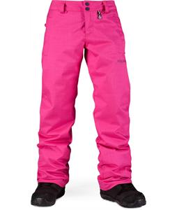 Volcom Boom Ins Snowboard Pants Pink