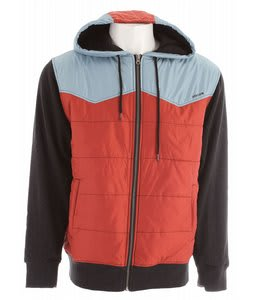 Volcom Cane Hoodie Orange Red