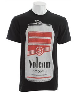 Volcom Can Pack T-Shirt Black