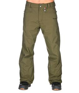 Volcom Carbon Snowboard Pants Military