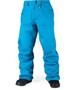 Volcom Carbon Snowboard Pants Cyan