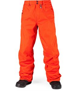 Volcom Carbon Snowboard Pants Orange
