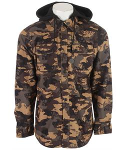 Volcom Chainsaw Flannel Jacket Military