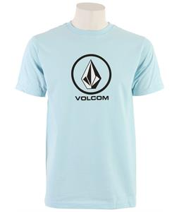 Volcom Circle Staple T-Shirt Light Blue