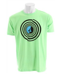 Volcom Circle Stoned T-Shirt Neon Mint Heather