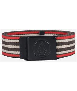 Volcom Circle Web Belt Burgundy