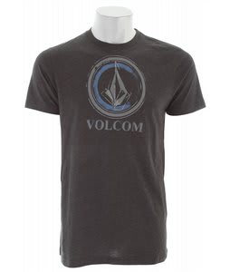 Volcom Circle Stain T-Shirt Heather Black