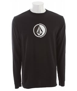 Volcom Circle Stone L/S T-Shirt Black
