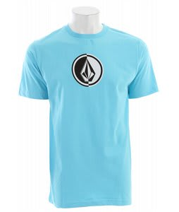 Volcom Circle Stone T-Shirt Blue Drift