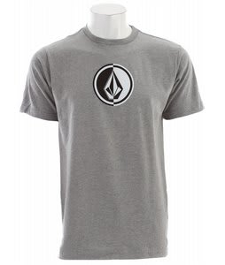 Volcom Circle Stone T-Shirt Heather Grey