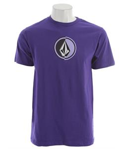 Volcom Circle Stone T-Shirt Purple Flash