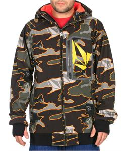Volcom Claytons Softshell Snowboard Jacket Military Camo