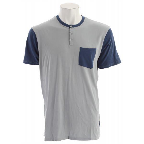 Volcom Coach Morris Vintage Wash Henley Shirt