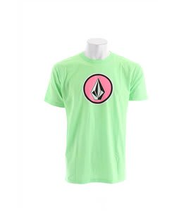 Volcom Cognito T-Shirt Neon Mint Heather