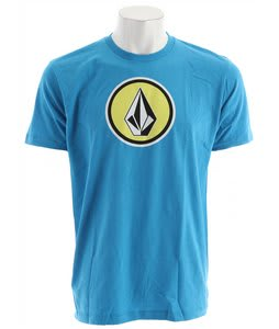 Volcom Cognito T-Shirt Neon Turquoise Heather