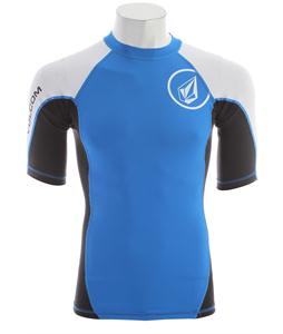 Volcom Colorblock Rashguard Blue