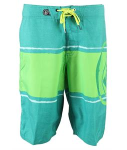 Volcom Commercial Drive Boardshorts Evergreen