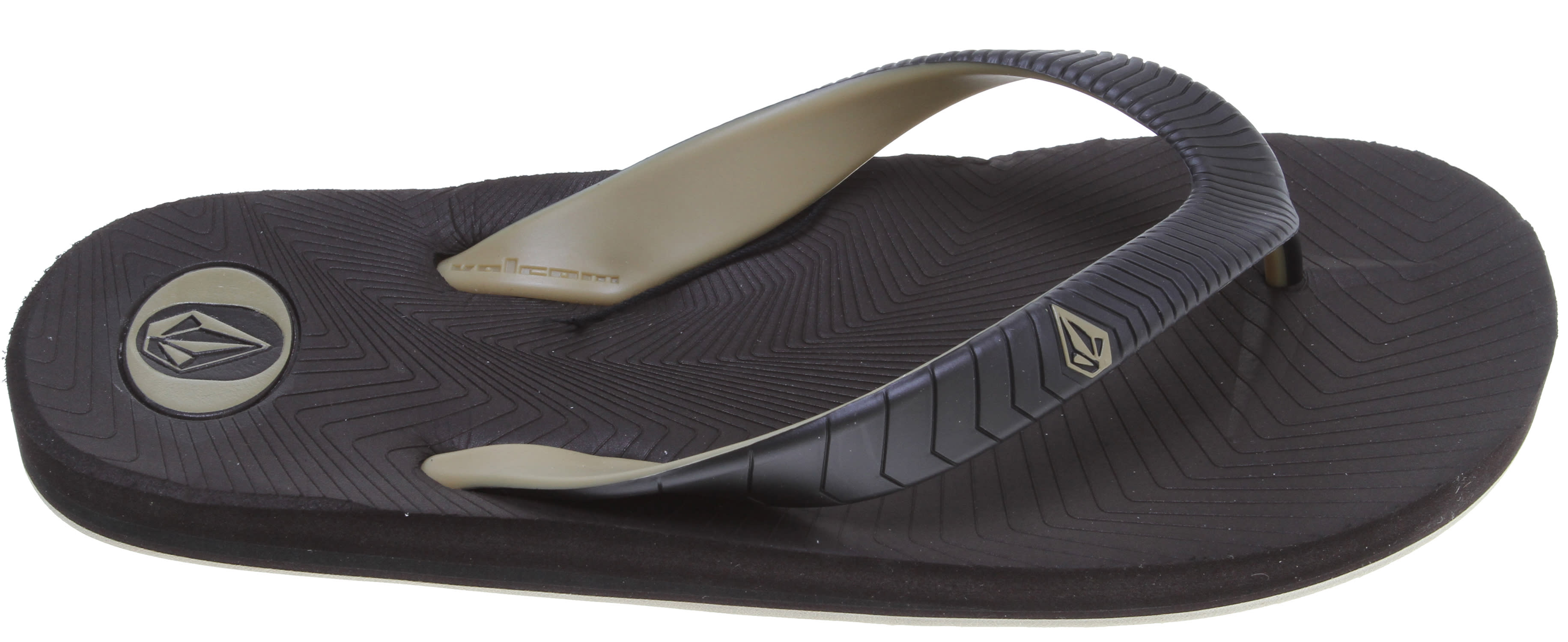 Volcom Concourse Creedlers Sandals Brown - Men's