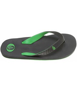 Volcom Concourse Creedlers Sandals Charcoal