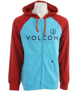 Volcom Constant Change Hoodie Blue Drift Heather