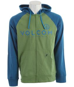 Volcom Constant Change Hoodie Electric Green Heather