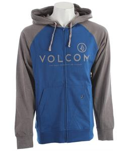 Volcom Constant Change Hoodie Marina Blue Heather