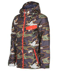 Volcom Construct Snowboard Jacket Military Camo