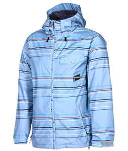 Volcom Construct Snowboard Jacket Silver Stripe