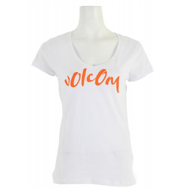 Volcom Core Script Slim Scoop V T-Shirt