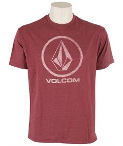 Volcom Corpo Push T-Shirt Burgundy Heather