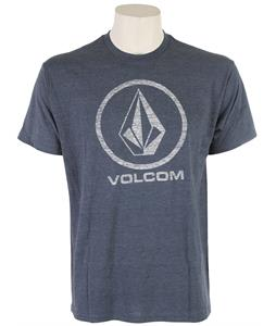 Volcom Corpo Push T-Shirt Navy Heather