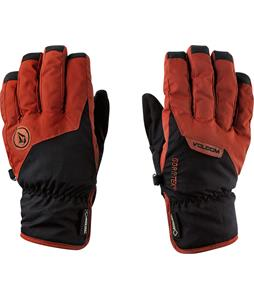 Volcom CP2 Pipe Gloves Rust