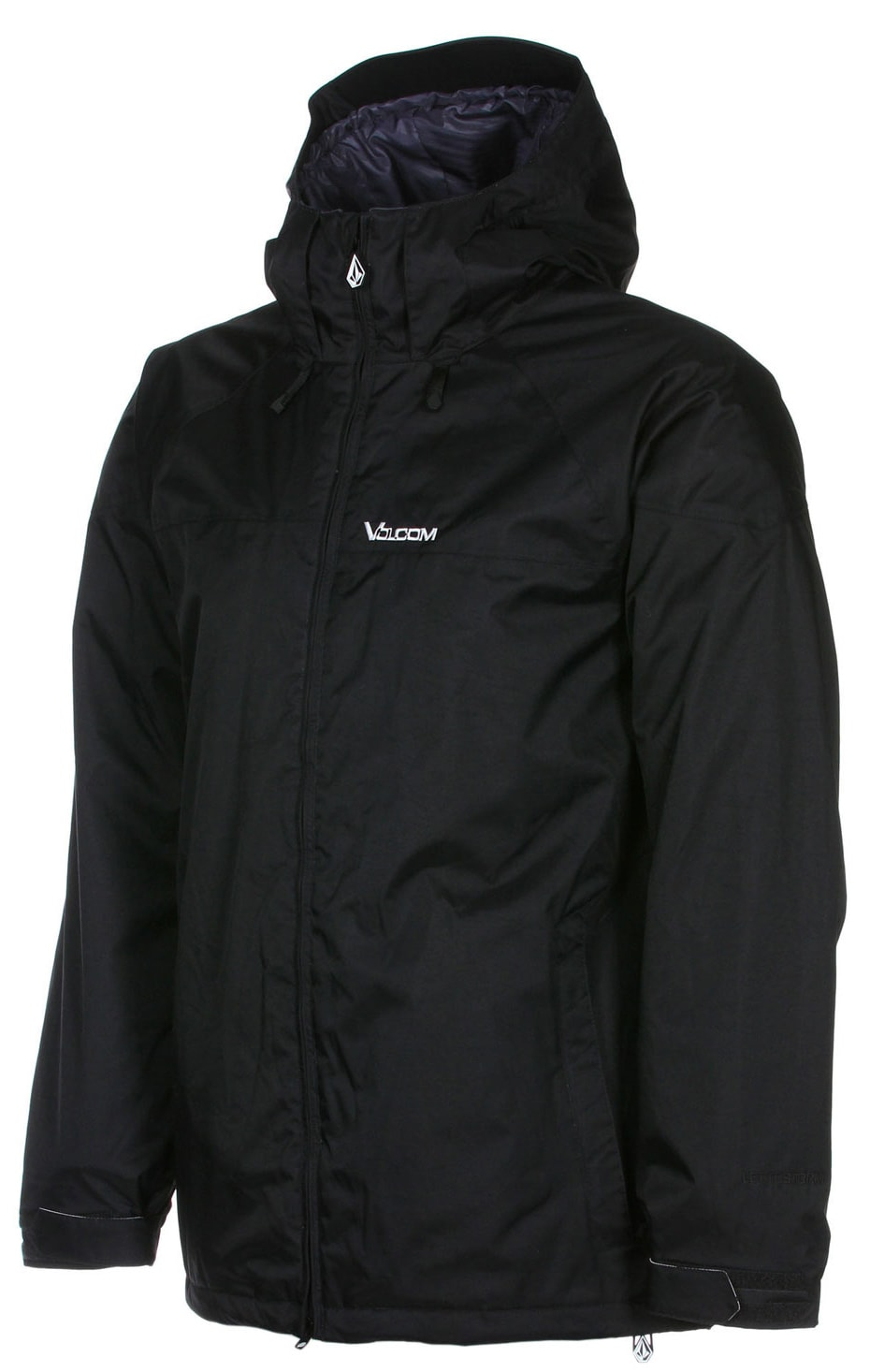 Shop for Volcom Cross Stone Insulated Snowboard Jacket Black - Men's