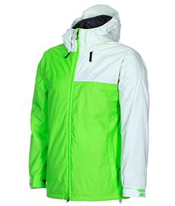 Volcom Cross Stone Insulated Snowboard Jacket Lime