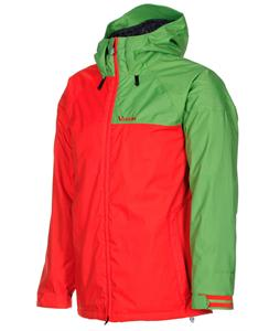 Volcom Cross Stone Insulated Snowboard Jacket Orange