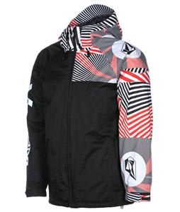 Volcom Cross Stone Insulated Snowboard Jacket Volca Stripe