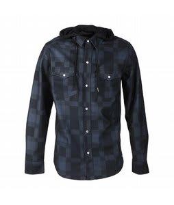 Volcom Dallas Flannel Jacket Black Plaid