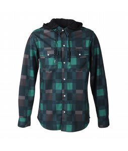 Volcom Dallas Flannel Jacket Forest Plaid