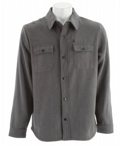Volcom Daybreak Shirt Jacket Grey Vintage