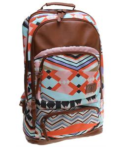 Volcom Deluxe Laptop Poly Backpack Multi 19L