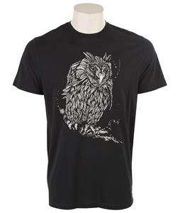 Volcom Dennis Mcnett Night Owl T-Shirt Black