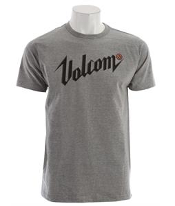 Volcom Dissever T-Shirt Heather Grey