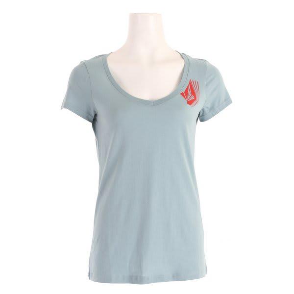 Volcom Ditto Stone Slim Scoop V T-Shirt