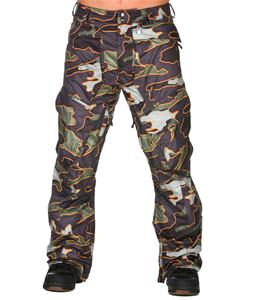 Volcom Dose Snowboard Pants Military Camo
