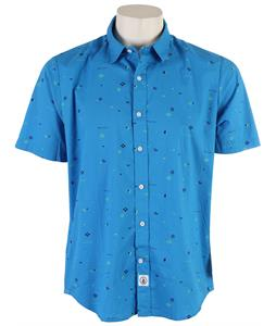 Volcom Dotty Shirt Electric Blue