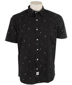 Volcom Dotty Shirt Tinted Black
