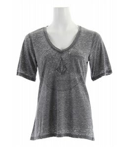 Volcom Dream Sphere Pocket T-Shirt Charcoal Heather