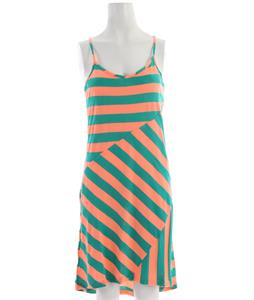 Volcom Dusty Pharaoh Dress Neon Orange