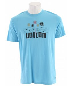 Volcom Dynamic Slim T-Shirt Sky Blue